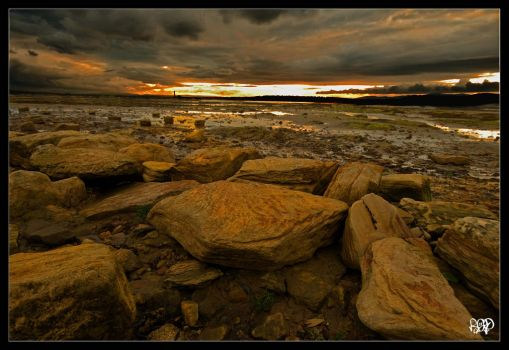 Firth of Forth Sunset by SnapperRod