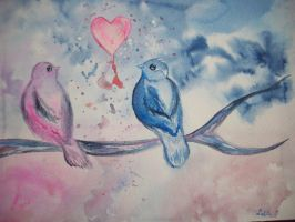The Lovebird and the Songbird by Lalita17
