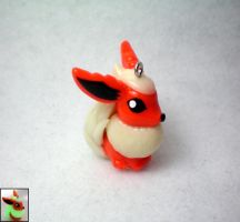 Mini Flareon by stevoluvmunchkin