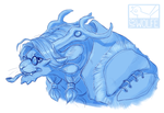 falstreig frostfang bust by VCR-WOLFE