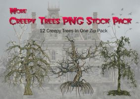 Creepy Trees PNG Stock Pack by Roys-Art
