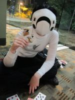 Zacharie cosplay by Phageous