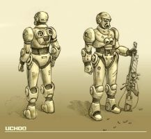 power armour concept by ilya-b