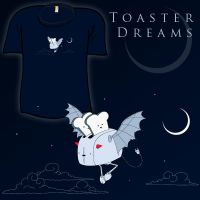 Woot Shirt - Toaster Dreams by fablefire
