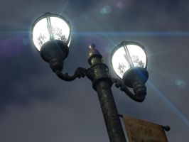 Street Lamp by IamZandar