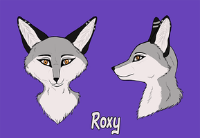 Roxy's Head by RoxyShadowpaw