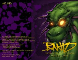 2013 Limited Edition Sketchbook Cover Art by rantz