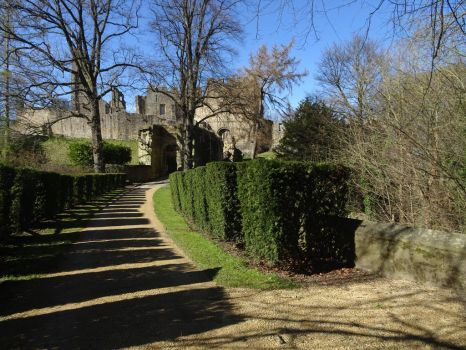 Prudhoe Castle by omick