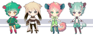 Kemonomimi Adopt Set [CLOSED] by Andreia-Chan