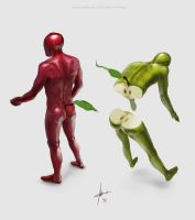 Appleman by Izaskun