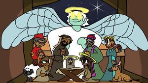 Another School Project: Nativity Scene by nicholangelo