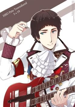 [The Who] HBD Pete Townshend by PepperMoonFlakes