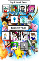 My Most Smash Bros Fave Meme 2 by iza200117