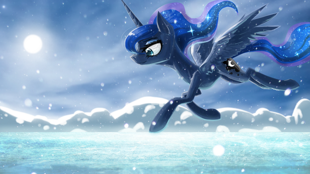 Road of Ice and Snow by UglyTree