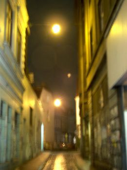 blurry side street by rotor