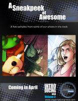 INTRODUCING artbook sneak peek by dcjosh