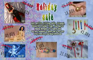 HOLIDAY SALE by silverbeam