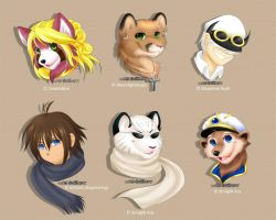 Headshots - 01 by Silberry