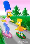 Marge and Bart - You Do It! by ChnProd22