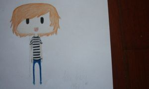 Alan Ashby // Of Mice and Men Chibi by MissBillK