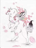 Curious Okami by Silverliger