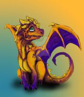 Baby Dragon by MetalEarth-Synergy