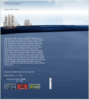 Nautical Gruzed CSS by VSConcepts