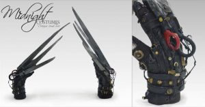 Edward Scissorhands Gloves by Nocte-Angelus