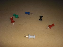Thumbtacks by digitalcircus-stock