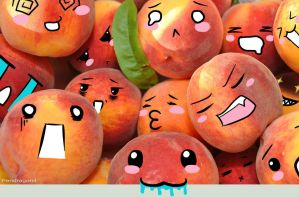 Peach Pile by Pendragon4
