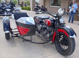1943 WL Harley-Davidson with Side Car right by Caveman1a