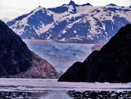 Tracy Arm Fjord by CorazondeDios
