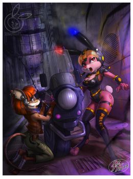 Kandy and Mig in Trouble by 14-bis