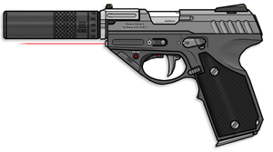 Charon 2 Pistol by sharp-n-pointy