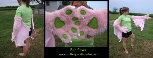 Bat Paws by stuffedpanda-cosplay