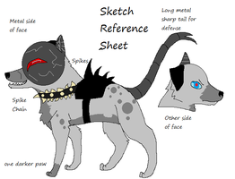 Sketch Reference Sheet by Hyperactive-Blue