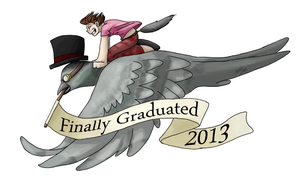 Finally Graduated 2013 by RipfangDragon