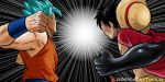 CROSSOVER - GOKU and LUFFY by Shight