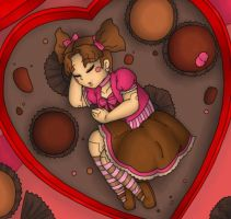 Valentine Chocolates by MuseWhimsy