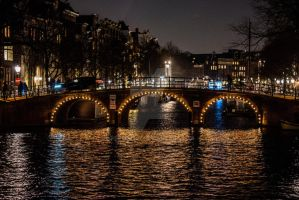 Amsterdam by night by Perseus67