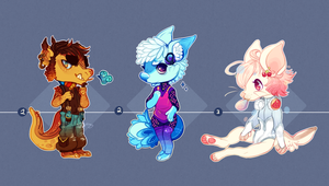 Cheeb Anthros .:Closed:. by Pieology
