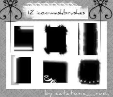 icon mask brushes by customer-mimi