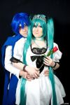 Kaito and Miku Love is Mine by Dnoyr