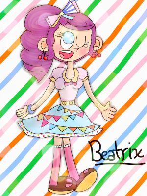 (100th deviation!) Beatrix [My OC] by the01angel