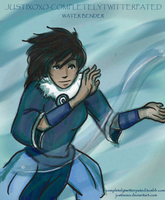 She's a Waterbender! by justixoxo