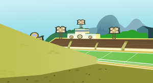 Football Pitch Wide Shot by Vector-Brony