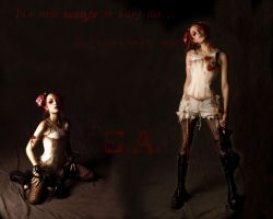 Emilie Autumn Wallpaper 03 by xAikaNoKurayami