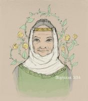 The Queen of Thorns by Algesiras
