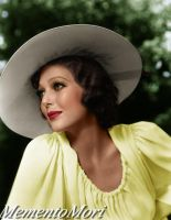 Summertime with Loretta Young by M3ment0M0ri