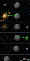 Borg Vs Deathstar by zenzmurfy